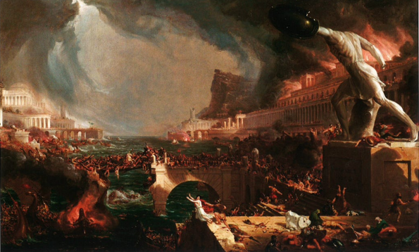 Thomas Cole: The Course of Empire